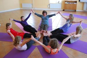 Yoga för barn och ungdom